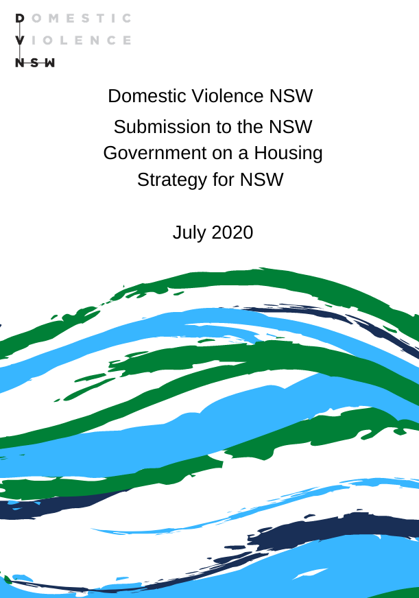Submission to the NSW Government on a Housing Strategy for NSW